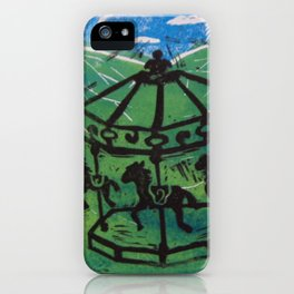 Carousel I iPhone Case