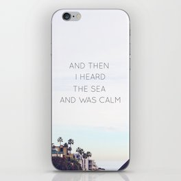The Sea iPhone Skin