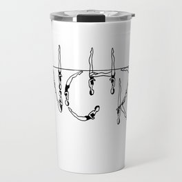 Old School Design Travel Mug