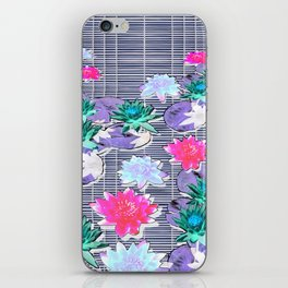 Lotus flower mix composition iPhone Skin