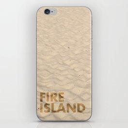 FIRE ISLAND iPhone Skin