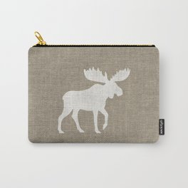 Moose Silhouette Carry-All Pouch