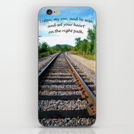 Proverbs 23:19 iPhone Skin