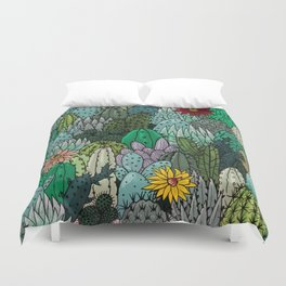 Cactus Collection Duvet Cover