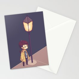 ill just wait here Stationery Cards