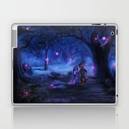 Love Goes On and On Laptop & iPad Skin