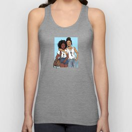 Girls About Town Unisex Tank Top