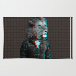 The Lion man Rug