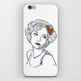 1930's Actress Alice White  iPhone Skin