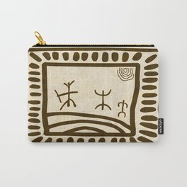 Ethnic 3 Canary Islands Carry-All Pouch