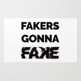 Fakers Gonna Fake Glitch (Shake It Off lyrics) [light] Rug