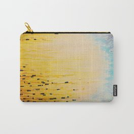 MYSTIC GARDEN Lovely Fairy Land Abstract Painting Acrylic Fine Art Winter Colorful Fantasy Magical Carry-All Pouch