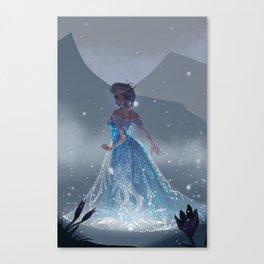 love will thaw Canvas Print
