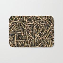 Rifle bullets Bath Mat