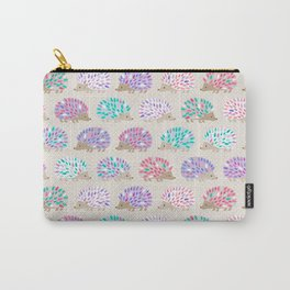 Hedgehog polkadot Carry-All Pouch