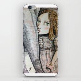 Dorothea face. iPhone Skin