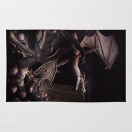 Dearg Doom the dragon Slayer Rug