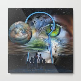 The Reality Shifters Metal Print