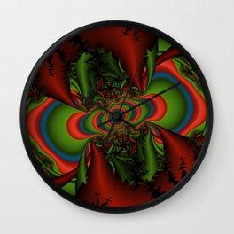 psychedelic seizure Wall Clock