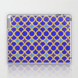 Blue Gold Scales Laptop & iPad Skin