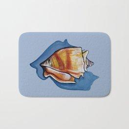 Shell One in Blue Bath Mat