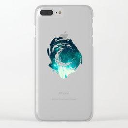 Spirit Nebula Clear iPhone Case