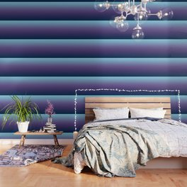 Ombre Blue Ultra Violet Gradient Pattern Wallpaper