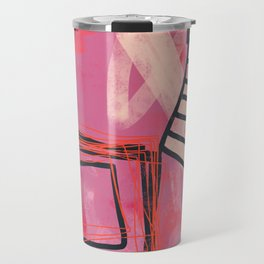 pinch me - abstract painting Travel Mug