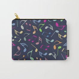 Music Colorful Notes III Carry-All Pouch