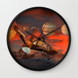 Mountain Life by GEN Z Wall Clock