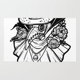 Plague Doctor Rug