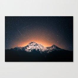 Mountain Space Canvas Print