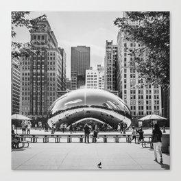 Chicago Cloud Gate / The Beam Canvas Print