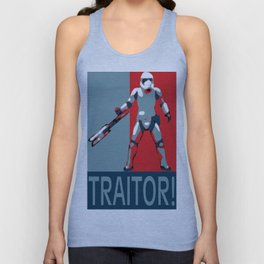 TRAITOR! Unisex Tank Top