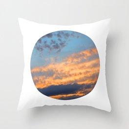 Berkshire Sunset III circle Throw Pillow