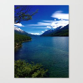Patagonian River Canvas Print