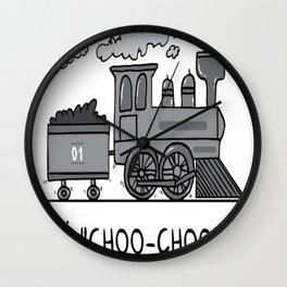 I choo-choo choose you! Wall Clock