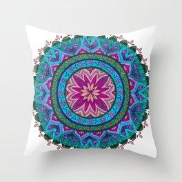 Meditation Mandala Throw Pillow