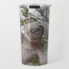 Sloth, A Real Tree Hugger Travel Mug