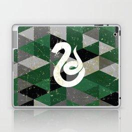 Slytherin House Pattern Laptop & iPad Skin