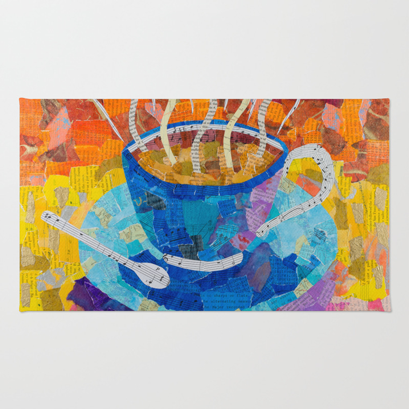 Cuppa Rug by Tealbuehler RUG8812525