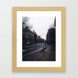 Streets of Dublin Framed Art Print