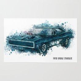 1970 Dodge Charger Rug