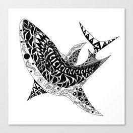 Mr. Shark Canvas Print