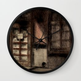 Restaurant Side Door Wall Clock