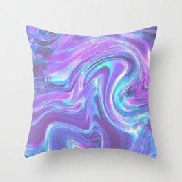 iridescent | bleu's creations. Throw Pillow