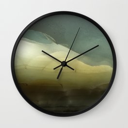 The ice that hides in the desert Wall Clock