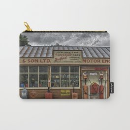 Old village garage. Carry-All Pouch