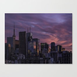 Summer in the 6ix Canvas Print