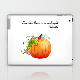 """""""Live like there is no midnight"""" Cinderella Laptop & iPad Skin"""